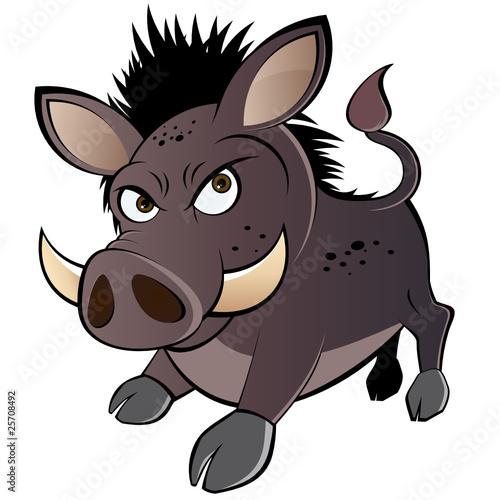 wildschwein cartoon lustig schwein comic