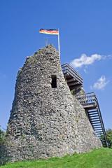 Burgruine Eversberg im Sauerland (Nordrhein-Westfalen)