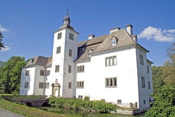 Wasserschloss Laer im Sauerland (Nordrhein-Westfalen)