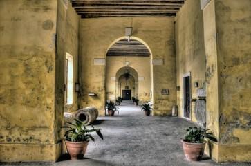 Villa Contarini - portici
