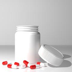 capsules & jar