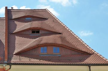bautzen, tetto con tre occhi