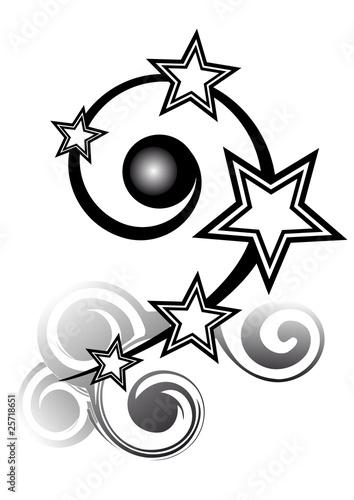 tatuaggio stelline