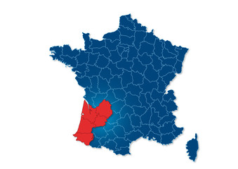 région aquitaine, France