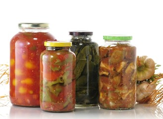 homemade preserved