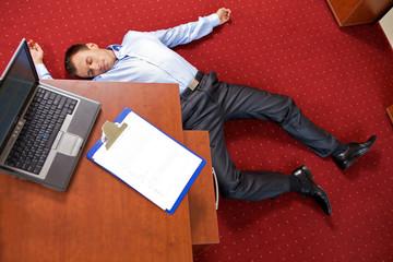 office homicide concept