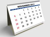 November English poster