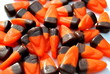 Orange and Brown Candy Corn