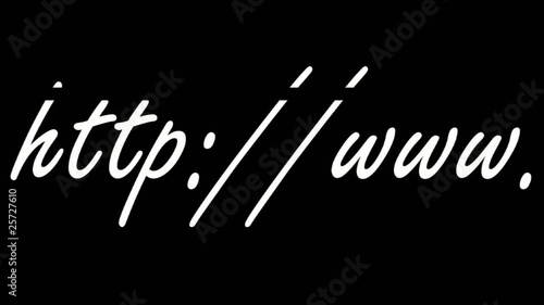 http://www.  (100 % white writing - fotolia watermark)