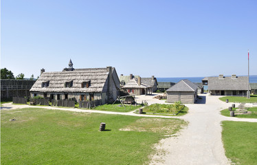Colonial Fort Michilimackinac