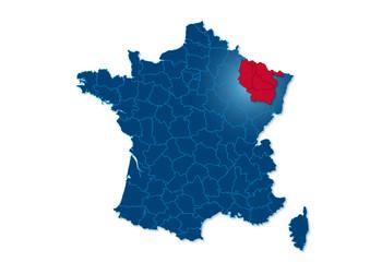 Région Lorraine France