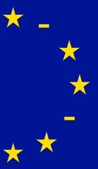 europa flagge freie stellen