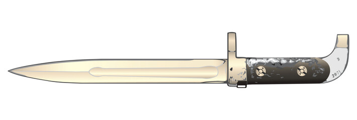 bayonet.vector illustration