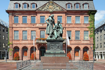 brothers grimm and town hall