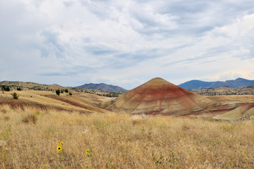 Painted Hills of John Day Fossil Beds