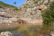 Ruisseau (gill) de punta pinzuta, GR20, Corse