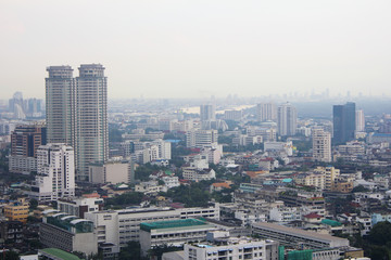 Urban skyscrapers, Bangkok