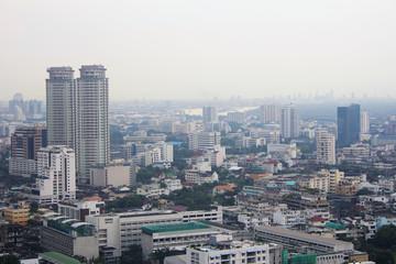 Urban skyscrapers, Bangkok