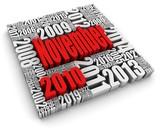 November 2010 poster