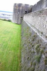 mur du château du musée de brest
