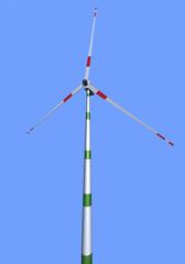 3D wind turbines