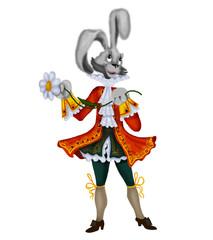 Enamoured rabbit