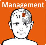 A psychology model - the management section of the brain