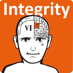 A psychology model - the integrity section of the brain