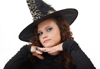 Portrait of a witch.