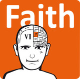 A psychology model - the faith section of the brain