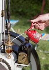 Mécanique naturelle (lubrification moteur ancien)