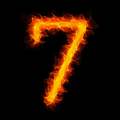 Fire number seven