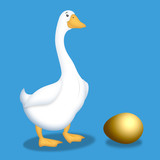 Goose With Golden Egg