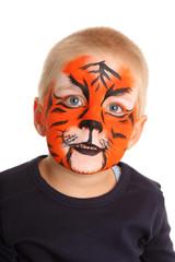 Portrait Tiger hochformat