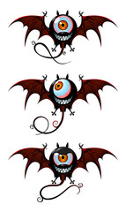 Flying creatures from nightmare