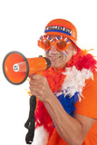 Dutch soccer supporter