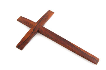 Simple wooden cross