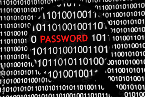 poster of Binary Code Login - Password