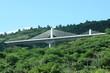 viaduc à haubans, route des Tamarins, île de la Réunion