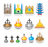 Religious Temples and Worship Places poster