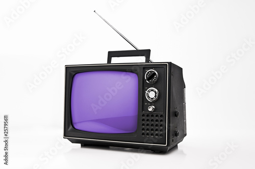 tragbarer fernseher from modul a royalty free stock photo. Black Bedroom Furniture Sets. Home Design Ideas