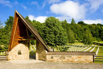 German Military Cemetery, Hunkovce, Slovakia