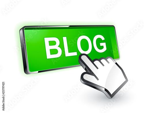 bouton blog curseur main