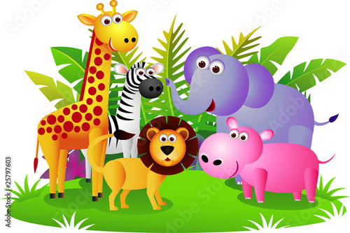 Plexiglas Bosdieren Cute animal Africa