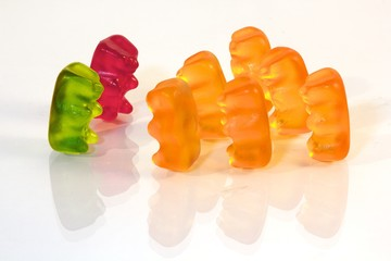 Gummi bear teammeeting