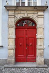 Poland - door in Gdansk