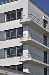 dessau, bauhaus, balconi