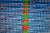 Stock Quotes at real time at the stock exchange poster
