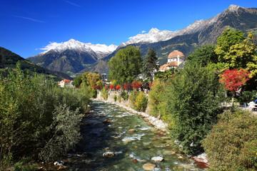 Landschaft Südtirol Bozen Meran