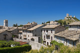Panoramic view of Assisi. Umbria.